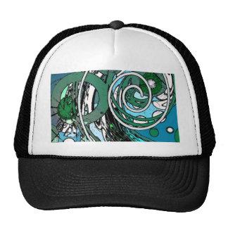 Tween Circles - Abstract Design Trucker Hat
