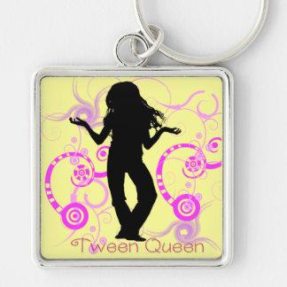 Tween Queen Keychain