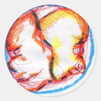Tweet A Baloo Round Sticker