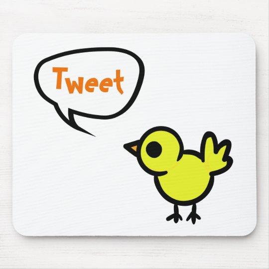 Tweet Bird Mouse Pad