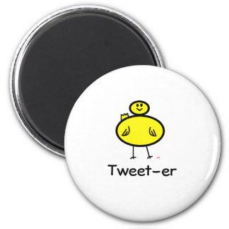 Tweet-er 6 Cm Round Magnet