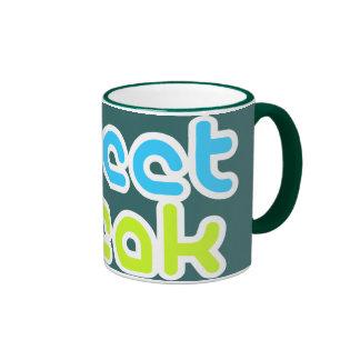Tweet Freak Ringer Mug