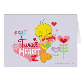 Tweet Heart Card