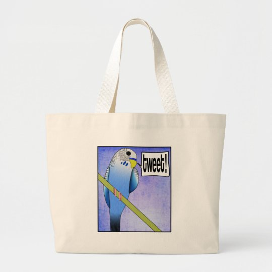 TWEET! LARGE TOTE BAG