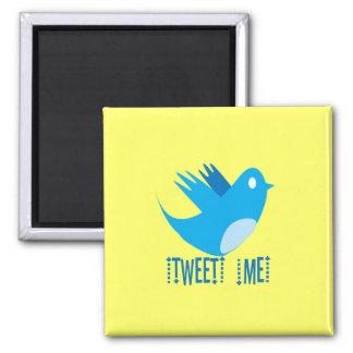 Tweet ME Refrigerator Magnet