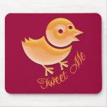 Tweet Me Mouse Pads