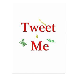 Tweet Me Postcard