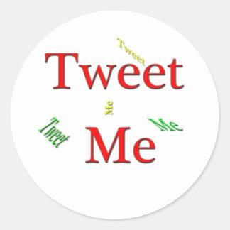 Tweet Me Sticker