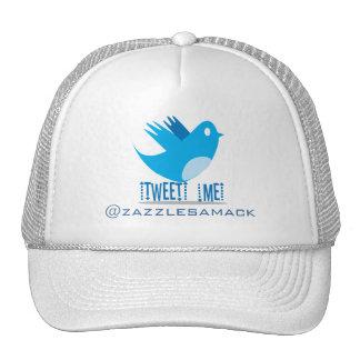 Tweet ME @ Your Tweet Address Cap