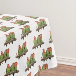 Tweet Trio Tablecloth (choose colour)