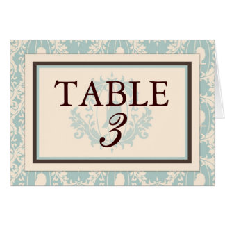 Tweet Tweet Boy Table Card C