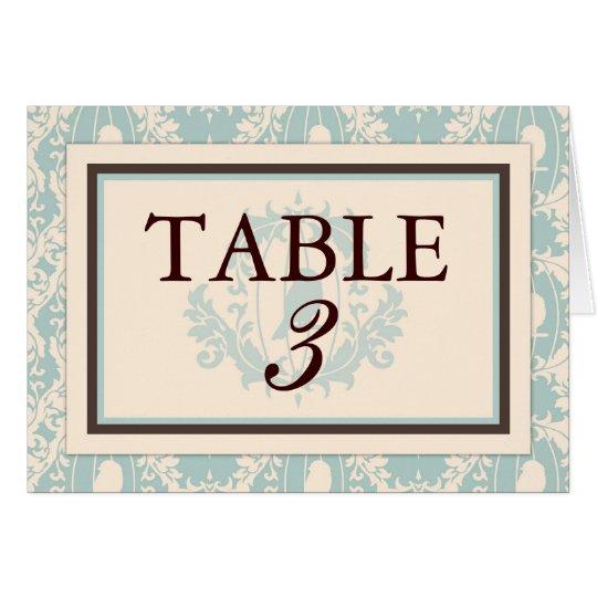 Tweet Tweet Boy Table Card C