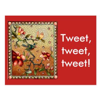 Tweet Tweet Tweet Postcard