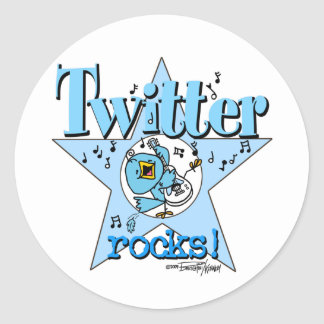 Tweet Twitter Rocks stickers