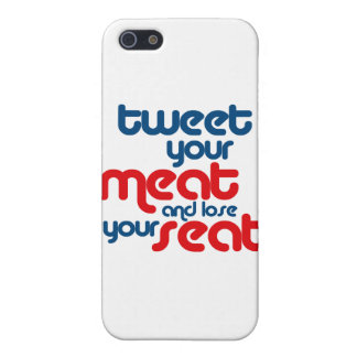 Tweet your meat and lose your seat iPhone 5 cases