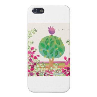 Tweeter Garden iPhone 5 Cases