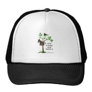 Tweetie Mesh Hats
