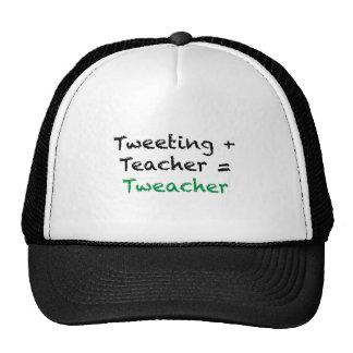 Tweeting + Teacher = Tweacher Mesh Hats