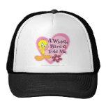 "Tweety ""A Widdle Bird Told Me"" Mesh Hat"
