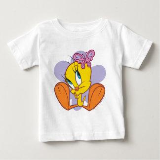 Tweety and Butterfly Baby T-Shirt