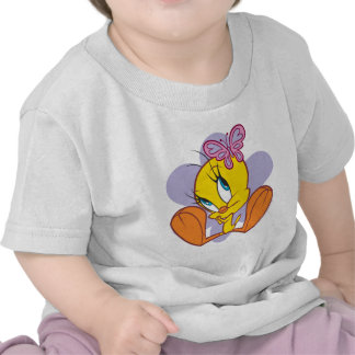 Tweety and Butterfly T Shirt