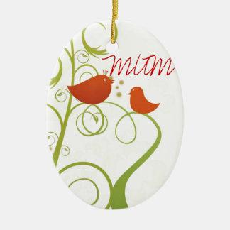Tweety Bird Mum Christmas Ornament
