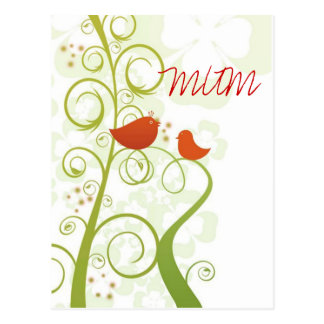 Tweety Bird Mum Postcard