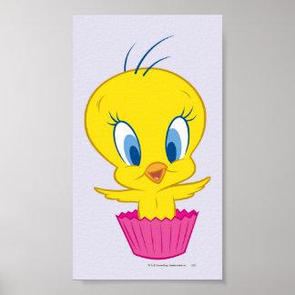 Tweety Cupcake Posters