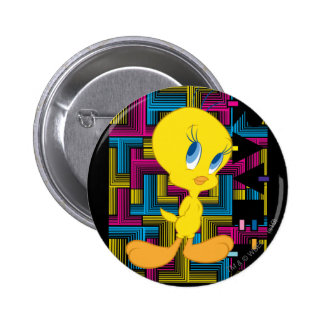 Tweety Electronic Color 6 Cm Round Badge