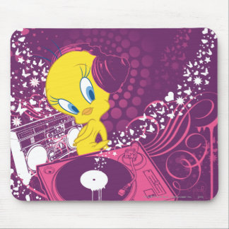 "Tweety ""Hear The Beat"" Mouse Pad"