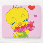 Tweety Hearts Mouse Mat