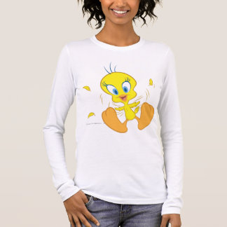 Tweety In Action Pose 5 Long Sleeve T-Shirt