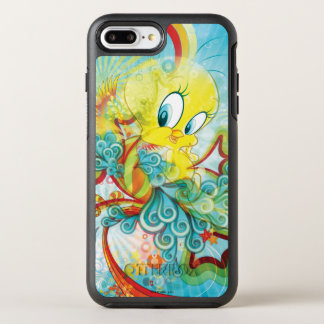 Tweety In Blue Wave OtterBox Symmetry iPhone 7 Plus Case