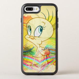 Tweety In Rainbows OtterBox Symmetry iPhone 7 Plus Case