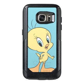 Tweety In The Clouds Pose 21 OtterBox Samsung Galaxy S7 Case