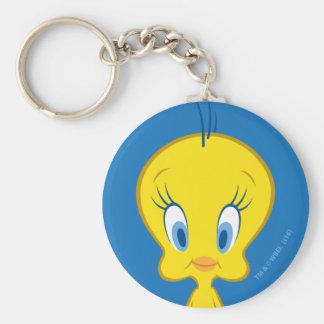 TWEETY™ | Innocent Little Bird Basic Round Button Key Ring