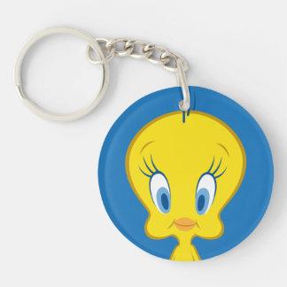 TWEETY™ | Innocent Little Bird Double-Sided Round Acrylic Key Ring