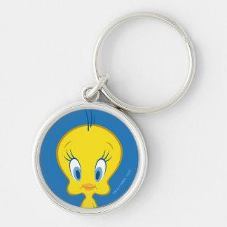 TWEETY™ | Innocent Little Bird Silver-Colored Round Key Ring
