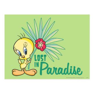 "Tweety ""Lost In Paradise"" Postcard"