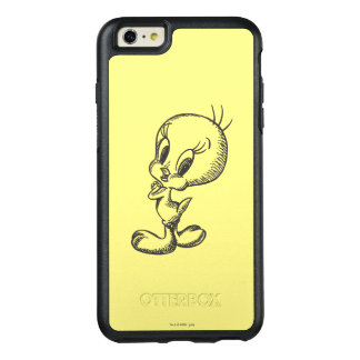 Tweety Lovely Black/White OtterBox iPhone 6/6s Plus Case