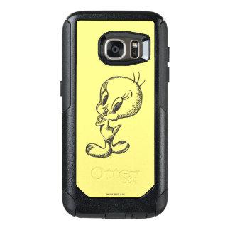 Tweety Lovely Black/White OtterBox Samsung Galaxy S7 Case