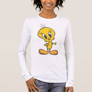 Tweety Opened Arms Long Sleeve T-Shirt