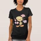 Tweety Pink Purple Flowers T-Shirt