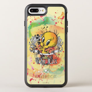"""Tweety """"The Lux"""" OtterBox Symmetry iPhone 7 Plus Case"""