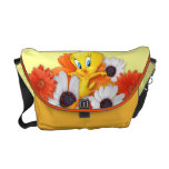 Tweety With Daisies Messenger Bag