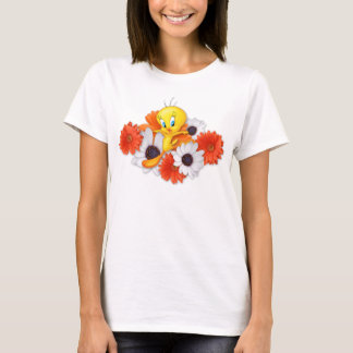 Tweety With Daisies T-Shirt