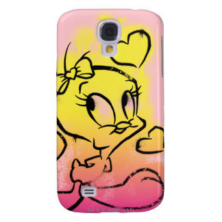 TWEETY™ With Hearts Galaxy S4 Case