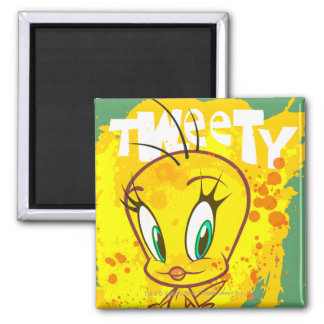 Tweety with Name Refrigerator Magnets