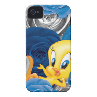 Tweety With Roses Case-Mate iPhone 4 Cases
