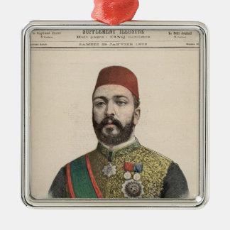 Twefik Pasha  Khedive of Egypt Christmas Ornament